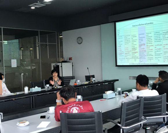 การถอดบทเรียนบทบาทการดำเนินงานของ Thai PBS ในสถานการณ์วิกฤติ
